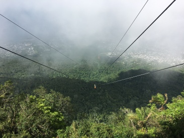 Up in the clouds of Puerto Plato